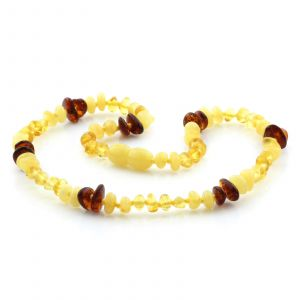 Baltic Amber Teething Necklace. Limited Edition LE01