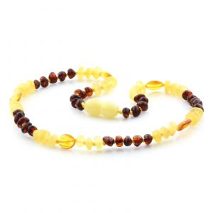 Baltic Amber Teething Necklace. Limited Edition LE21