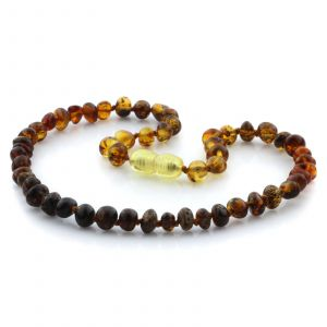 Baltic Amber Teething Necklace. Limited Edition LE13