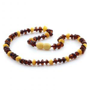 Baltic Amber Teething Necklace. Limited Edition LE11