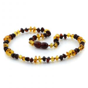 Baltic Amber Teething Necklace. Limited Edition LE07