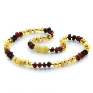 Baltic Amber Teething Necklace. Limited Edition LE08