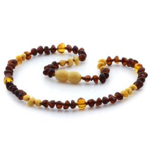 Baltic Amber Teething Necklace. Limited Edition LE09