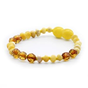 BALTIC AMBER BRACELET FOR KIDS. LIMITED EDITION. LE364