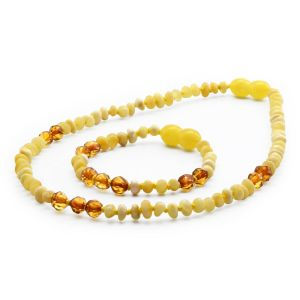 BALTIC AMBER SET FOR KIDS. LIMITED EDITION. LE364