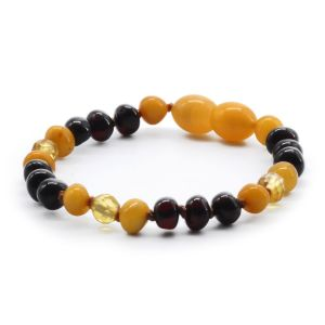 BALTIC AMBER BRACELET FOR KIDS. LIMITED EDITION LE362