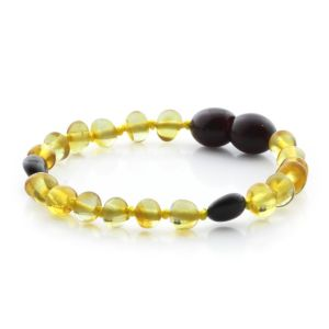 BALTIC AMBER BRACELET FOR KIDS. LIMITED EDITION BE172