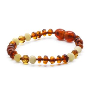 BALTIC AMBER BRACELET FOR KIDS. LIMITED EDITION BE175
