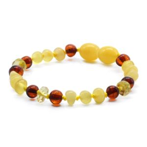 BALTIC AMBER BRACELET FOR KIDS. LIMITED EDITION BE176