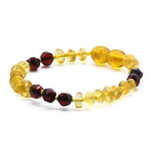 BALTIC AMBER BRACELET FOR KIDS. LIMITED EDITION. BE177