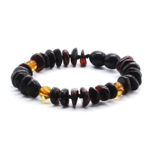 BALTIC AMBER BRACELET FOR KIDS. LIMITED EDITION BE178