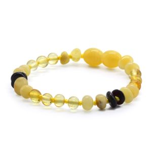 BALTIC AMBER BRACELET FOR KIDS. LIMITED EDITION CE131