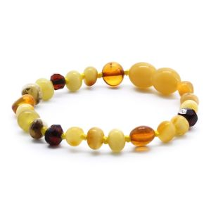 BALTIC AMBER BRACELET FOR KIDS. LIMITED EDITION LE353