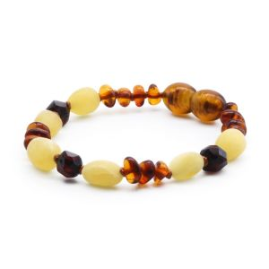 BALTIC AMBER BRACELET FOR KIDS. LIMITED EDITION. BE182