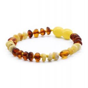 BALTIC AMBER BRACELET FOR KIDS. LIMITED EDITION. LE365