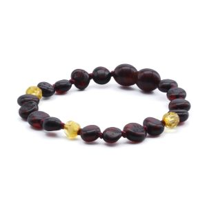 BALTIC AMBER BRACELET FOR KIDS. LIMITED EDITION. LE370