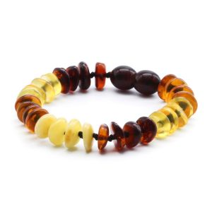 BALTIC AMBER BRACELET FOR KIDS. LIMITED EDITION. BE180