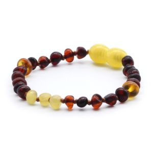 BALTIC AMBER BRACELET FOR KIDS. LIMITED EDITION. LE367