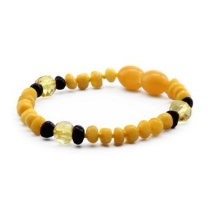 BALTIC AMBER BRACELET FOR KIDS. LIMITED EDITION. LE380