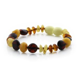 Baltic Amber Teething Bracelet. Limited Edition BE167