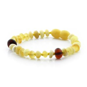 Baltic Amber Teething Bracelet. Limited Edition CE126