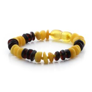 Baltic Amber Bracelet for Kids. Limited Edition LE313