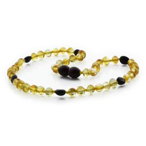 BALTIC AMBER TEETHING NECKLACE. LIMITED EDITION. BE172