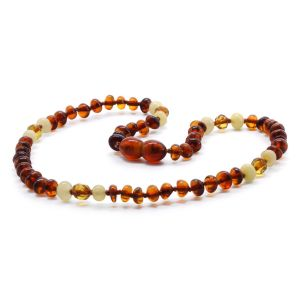 BALTIC AMBER TEETHING NECKLACE. LIMITED EDITION. BE175