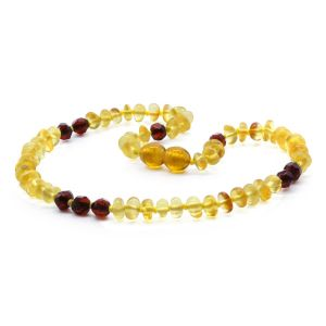 BALTIC AMBER TEETHING NECKLACE. LIMITED EDITION. BE177