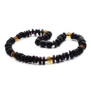BALTIC AMBER TEETHING NECKLACE. LIMITED EDITION. BE178