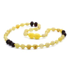 BALTIC AMBER TEETHING NECKLACE. LIMITED EDITION. CE130