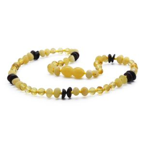 BALTIC AMBER TEETHING NECKLACE. LIMITED EDITION. CE131