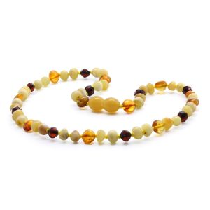 BALTIC AMBER TEETHING NECKLACE. LIMITED EDITION. LE353