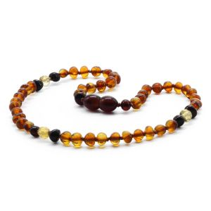 BALTIC AMBER TEETHING NECKLACE. LIMITED EDITION. LE361