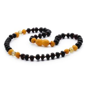 BALTIC AMBER TEETHING NECKLACE. LIMITED EDITION. LE362