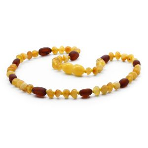 BALTIC AMBER TEETHING NECKLACE. LIMITED EDITION. LE363