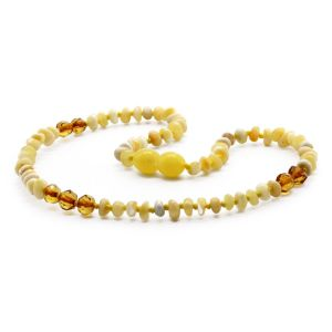 BALTIC AMBER TEETHING NECKLACE. LIMITED EDITION. LE364