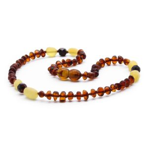 BALTIC AMBER TEETHING NECKLACE. LIMITED EDITION. BE182