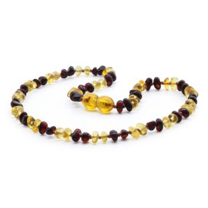 BALTIC AMBER TEETHING NECKLACE. LIMITED EDITION. LE358