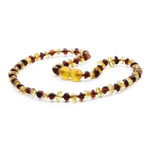 BALTIC AMBER TEETHING NECKLACE. LIMITED EDITION. LE359