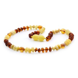 BALTIC AMBER TEETHING NECKLACE. LIMITED EDITION. LE365