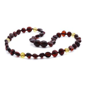 BALTIC AMBER TEETHING NECKLACE. LIMITED EDITION. LE370