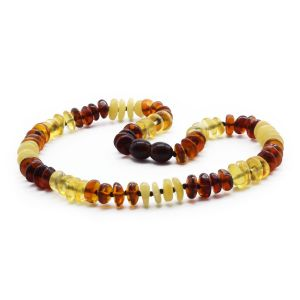 BALTIC AMBER TEETHING NECKLACE. LIMITED EDITION. BE180