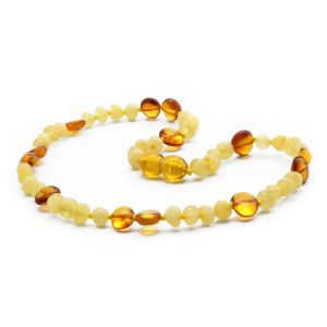 BALTIC AMBER TEETHING NECKLACE. LIMITED EDITION. BE184