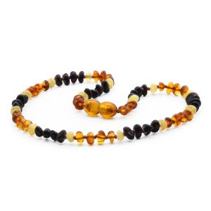 BALTIC AMBER TEETHING NECKLACE. LIMITED EDITION. CE132