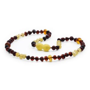 BALTIC AMBER TEETHING NECKLACE. LIMITED EDITION. LE367