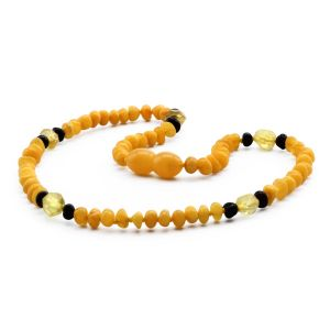 BALTIC AMBER TEETHING NECKLACE. LIMITED EDITION. LE380