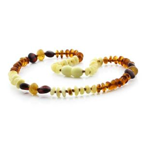 BALTIC AMBER TEETHING NECKLACE. LIMITED EDITION. BE167
