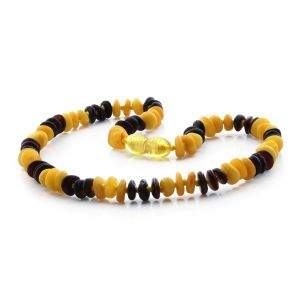BALTIC AMBER TEETHING NECKLACE. LIMITED EDITION. LE313