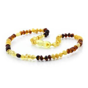 BALTIC AMBER TEETHING NECKLACE. LIMITED EDITION. LE330